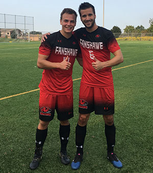 Photo of Fanshawe Falcons soccer players