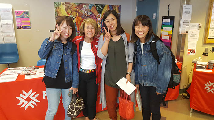 Photo of Ibaraki exchange students