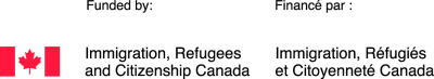 Funded by Immigration, Refugees and Citizenship Canada.