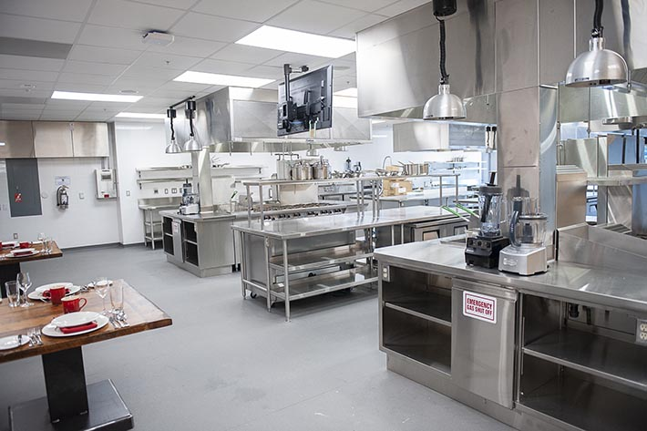 Culinary lab at 130 Dundas Street