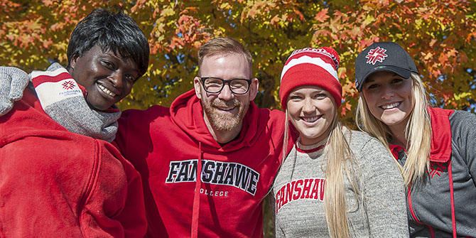 Photo of Fanshawe students