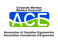 Corporate Member, ACE, Association of Canadian Ergonomists