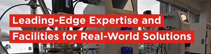 Leading-edge expertise and facilities for real-world solutions