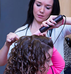 Photo of hair styling course
