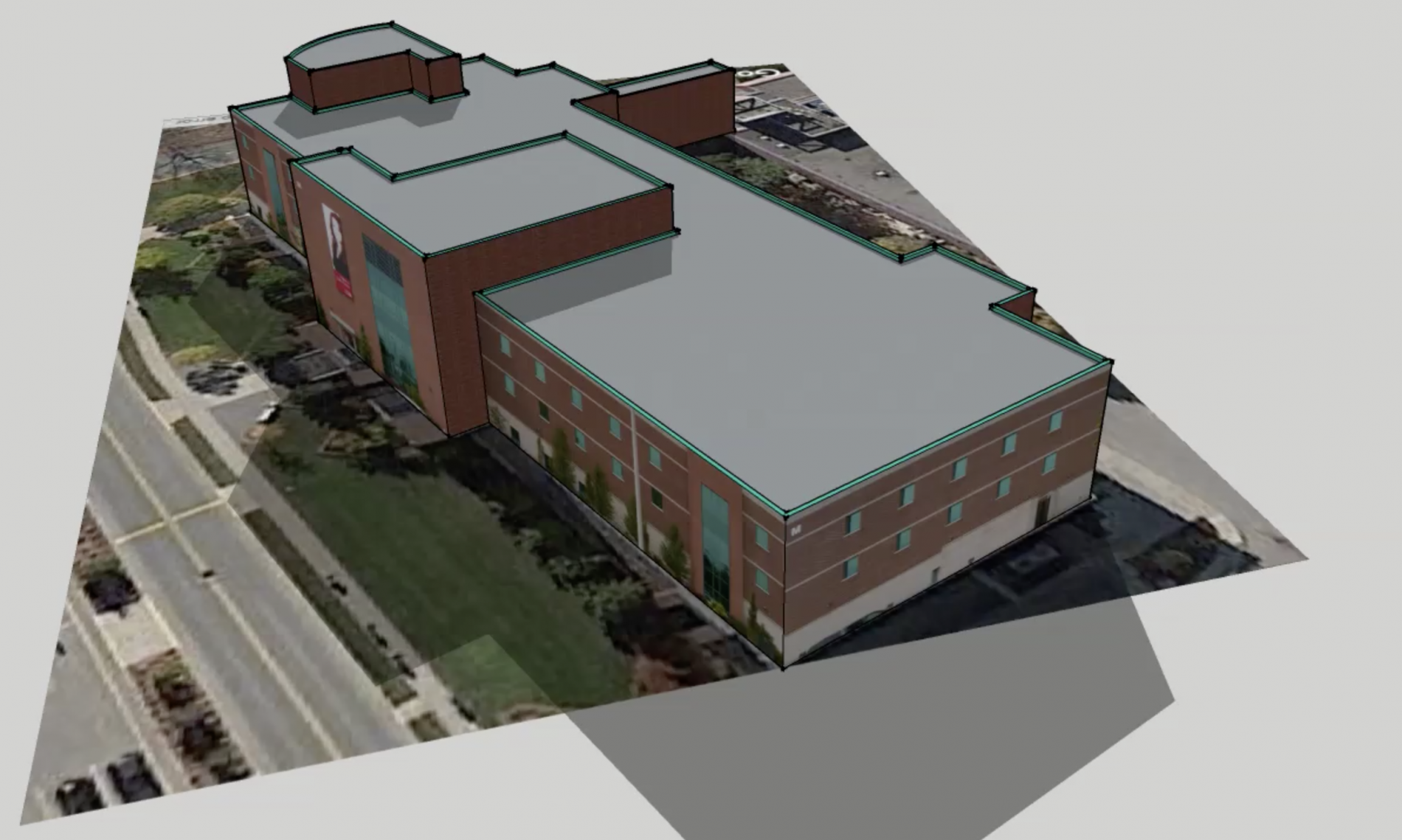 Render M-Building, Fanshawe College