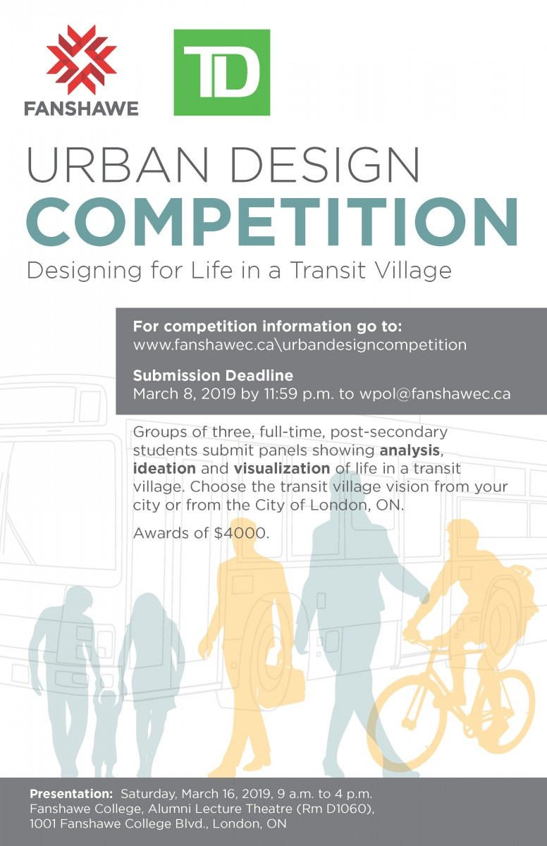 TD Urban Design Competition Poster